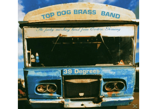 Top Dog Brass Band - 39 Degrees - (CD)
