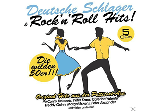 VARIOUS - Dt.Schlager & Rock' N Roll Hits! [Box-Set] [CD]