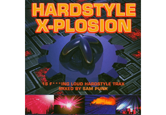 Sam Punk - Hardstyle X-Plosion By Sam Punk [CD]