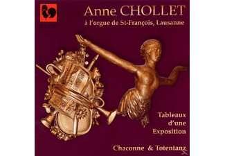 Anne Chollet - Tableaux D Ube Exposition/ Chaconne - (CD)