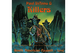 Paul-& Killers- Dianno - South American Assault-Live - (CD)