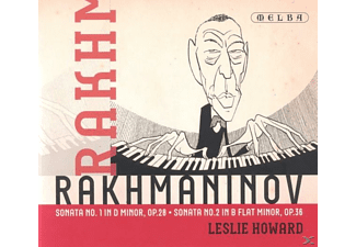 Leslie Howard - Rachmaninov: Sonata No. 1 In D Minor & No. 2 In B Flat Minor - (CD)