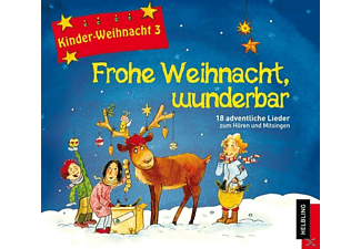 VARIOUS - Frohe Weihnacht,wunderbar - (CD)
