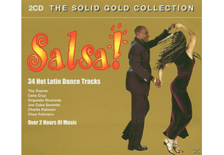VARIOUS - Salsa-Solid Gold Collection - (CD)