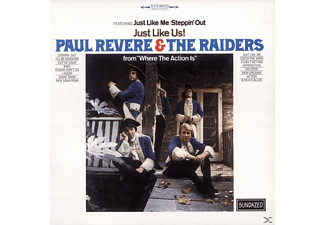Paul Revere & the Raiders - Just Like Us - (CD)