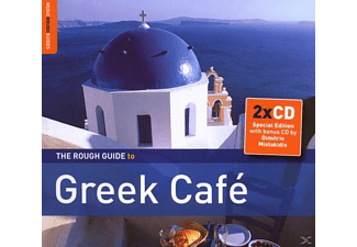 Diverse Griechenland - Rough Guide: Greek Cafe (+ - (CD + Bonus-CD)