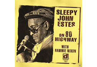 Sleepy John Estes - Sleepy John Estes On 80 Highway Delmark - (CD)