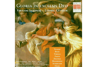 Ludwig Güttler, Vsx - Gloria In Excelsis Deo - (CD)