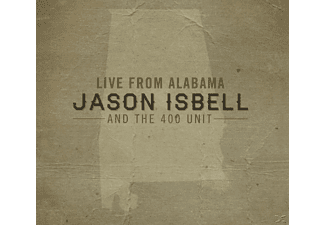 Jason And The 400 Unit Isbell - Live From Alabama - (CD)