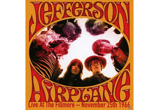 Jefferson Airplane - Live At The Fillmore - November 25th 1966 [CD]