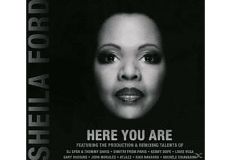 Sheila Ford - Here You Are - (CD)