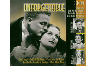 VARIOUS - Unforgettable - (CD)