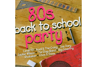 VARIOUS - 80s Back To School Party - (CD)