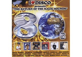 VARIOUS - I Love Disco-80's Vol.2 - (CD)