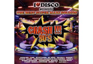 VARIOUS - The Best Super Maxi Sounds - Crash 80's - (CD)
