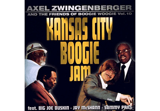 Axel Zwingenberger, Axel & Friends Zwingenberger - Kansas City Boogie Jam - (CD)
