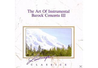 VARIOUS - The Art Of Instrumental-Barock Concerts 3 - (CD)