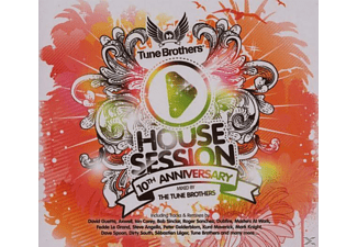 VARIOUS - Tune Brothers-Housesession 10t - (CD)