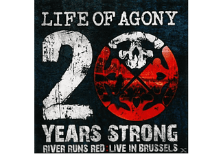 Life Of Agony - 20 Years Strong-River Runs Red Live - (Vinyl)
