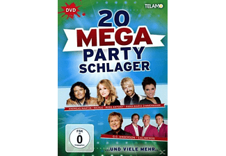 VARIOUS - Mega Party Schlager - (DVD)