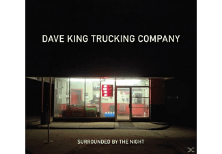 Dave King Trucking Company - SURROUNDED BY THE NIGHT - (CD)
