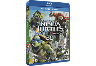 Teenage Mutant Ninja Turtles - Out of the shadows Action Blu-ray 3D