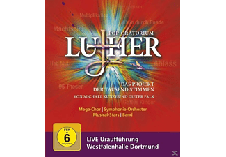 Michael Kunze Dieter Falk - Pop-Oratorium Luther [Blu-ray]