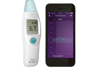 PHILIPS Bluetooth Fieberthermometer SCH 740/86 Avent Smart