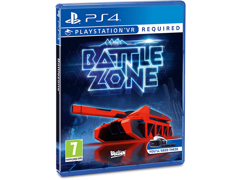 Battlezone VR gaming games ps4 games