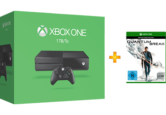 MICROSOFT Xbox One 1TB Quantum Break Konsolen-Bundle