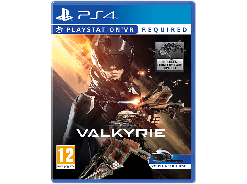 EVE: Valkyrie VR gaming games ps4 games