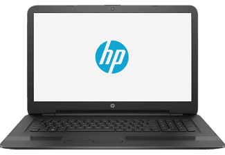 HP 17-y035ng, Notebook mit 17.3 Zoll Display, Core A10 Prozessor, 12 GB RAM, 1 TB HDD, Radeon R7 M440, Schwarz
