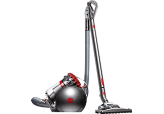 DYSON 216667-91 Big Ball Clean & Tidy, Staubsauger ohne Beutel, Rot