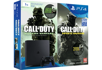 SONY PS4 Slim 1 TB + Call of Duty Infinity Warfare Legacy Edition Voucher