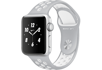 APPLE Watch Series 2 Nike+ 38mm aluminium / zilver sportbandje