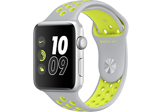 APPLE Watch Series 2 Nike+ 42mm aluminium / zilver-volt sportbandje