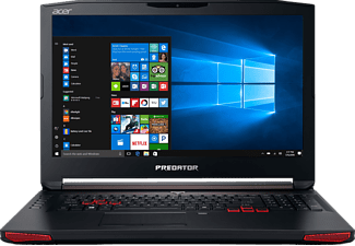 ACER Predator G5-793-7108, Notebook mit 17.3 Zoll Display, Core™ i7 Prozessor, 8 GB RAM, 256 GB SSD, 1 TB HDD, GeForce GTX 1060, Schwarz