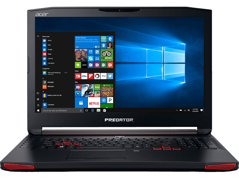 Gaming laptop ACER Predator G5-793-7108