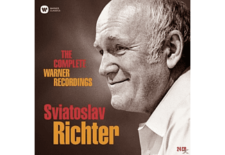 VARIOUS, Richter Svjatoslav - Complete Warner Recordings,The (Lim.Edition) [CD]