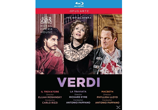 Cura/Fleming/Keenlys - Il Trovatore/La Traviata/Macbeth - (Blu-ray)
