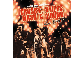 Crosby, Stills, Nash & Young - Live 1970/FM Broadcast - (Vinyl)