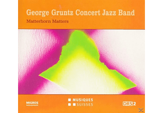 The George Gruntz Concert Jazz Band - Gruntz Concert Jazz Band: Matterhorn Matters - (CD)