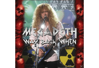Megadeth - WAY BACK WHEN - (CD)