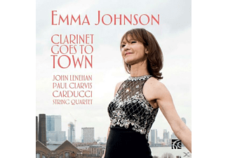 Emma Johnson - Clarinet goes to Town - (CD)