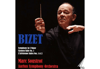 Marc/aarhus Symphonieorchester Soustrot - Orchesterwerke - (CD)