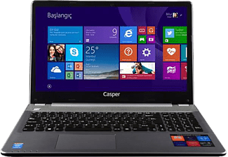CASPER CN.M5L-7200A 15.6 inç  Core™ i5-7200U 2.5 GHz 8GB 500GB GT940M 2 GB Windows 10 Notebook