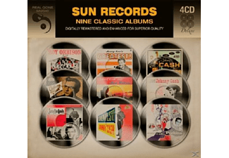 VARIOUS - 9 Classic Sun Records Albums [CD]