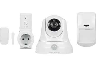 SPEEDLINK SL-900111-WE Home Security Set Basic, Starter Kit, System: WLAN