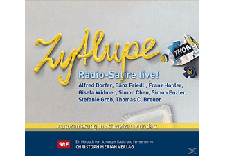 Zytlupe-Radio-Satire Live! - 1 CD - Humor/Satire