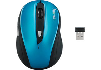 HAMA AM-8200 Wireless Optical Mouse Black/Blue - (134944)